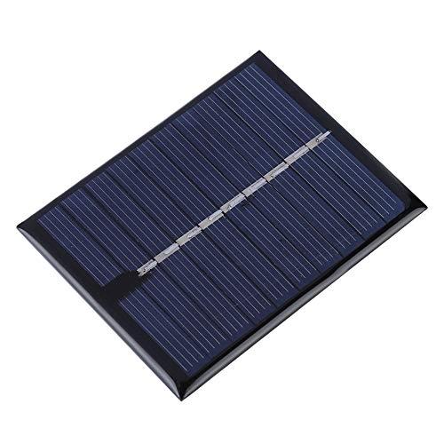 Zonnepaneel 0.5W polysilicon zonnelijmbord buiten powerbank voor apparaten met laag vermogen
