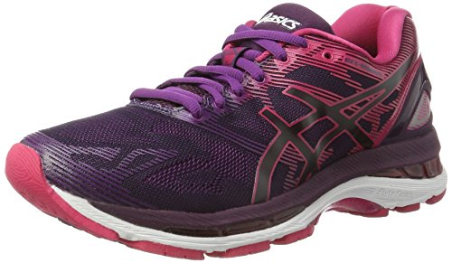 Asics T750N9020, Zapatillas de Running Mujer, Negro (Black/Cosmo Pink/Winter Bloom), 37 EU