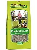Classic Green Rasensaat Mischung zum Begrünen Rasensaat 10kg| Grassamen | Rasensamen 10kg | Premium Rasensaat | Rasensaat Mischung zum Begrünen | Rasensaatgut | Rasensaat zum Begrünen|...