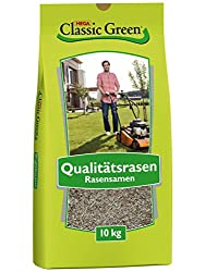 Classic Green Lawn Seed Mixture for Lawn Lawn Seed 10kg | Grass seeds | Lawn Seed 10kg | Premium lawnseed | Lawn Seed Mixture for Gardening | Lawn seed | Lawn Seeds for Gardening | Lawn grass seed mixture