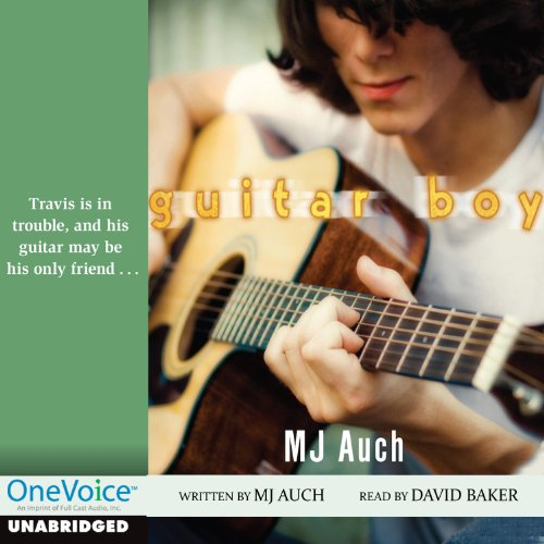 Guitar Boy audiobook cover art