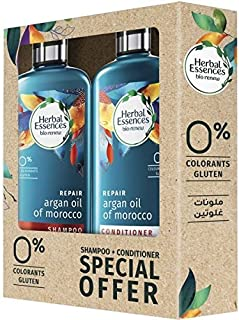 Herbal Essences Bio:Renew Argan Oil of Morocco Shampoo 400 ml + Conditioner 400ml