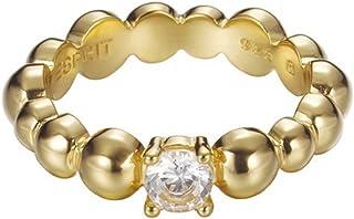 Esprit Jewels Women's Ring 925 Sterling Silver Solo pellet gold ESRG92321B1 0