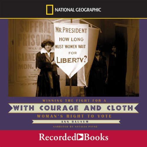 With Courage and Cloth audiobook cover art