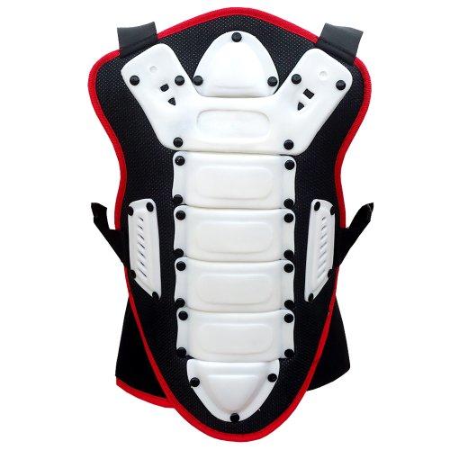 HEEZY Kinder Rückenprotektor Ski Snowboard Rücken Protektor Motocross Quad BMX Reiten (S)