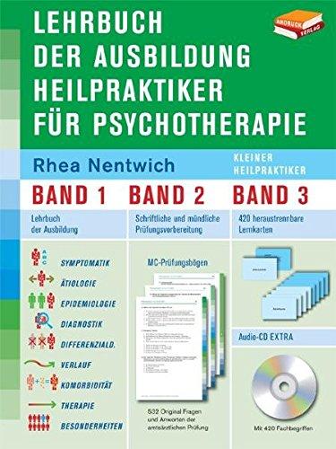 Lehrbuch der Ausbildung Heilpraktiker für Psychotherapie - kleiner Heilpraktiker - in 3 Bänden