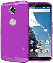 TUDIA LITE TPU Bumper Protective Case for Google Nexus 6 (Purple)
