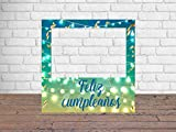 Photocall Feliz Cumpleaños 1x1m | Detalles Cumpleaños | Photocall Económico y Original | Disfruta de Unas Divertidas Fotos con Nuestro photocall de cumpleaños