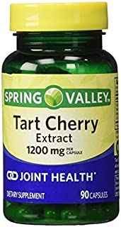 Spring Valley Tart Cherry Extract for Joint Health, 1200 Mg, 90 Capsules by Spring Valley