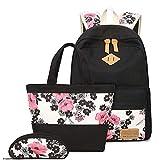 HBRE 3 In 1 Backpack Set,15.6 Pulgadas PortáTil Unisex Ligera Mochila Negocio Impermeable,para Los Estudios, Viajes O Trabajo