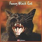 Funny Black Cat 2021 Calendar: Official Funny Black Cat Wall Calendar 2021, 18 Months