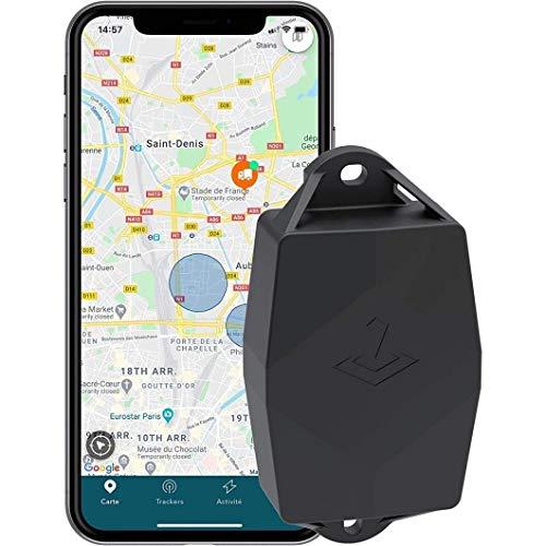 TRAKmy Traceur GPS Maxi : Autonomie 5 Ans + 1 an d'abonnement Offert + sans Carte SIM + sans Câblage. Voiture, Bateau, Remorque, Camping-Car - BTP : Engin/Matériel de Chantier