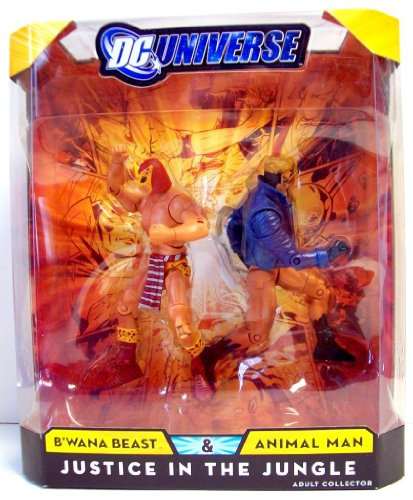 DC Universe Classics Justice In The Jungle Action Figure 2Pack BWana Beast & Animal Man