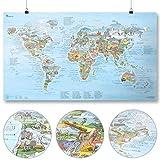 Wander Weltkarte | AWESOME MAPS | Entdecke die 300 schönsten Wanderwege der Welt