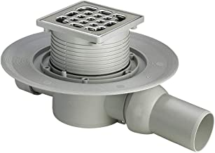 Viega 557119 badslip Advantix model 4935.1 met opzetstuk, 100 x 100 mm