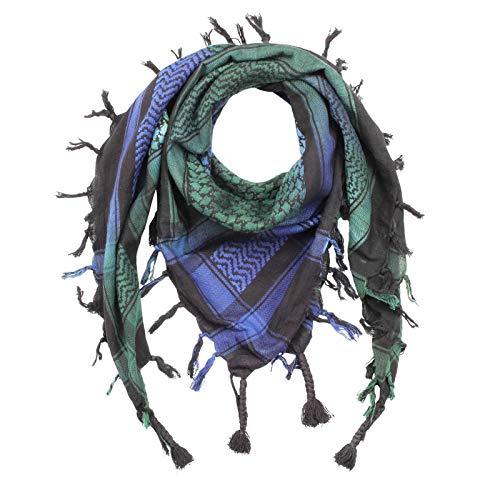 Superfreak Palituch - schwarz - Tie dye-Batik-bunt 02-100x100 cm - Pali Palästinenser Arafat Tuch - 100% Baumwolle