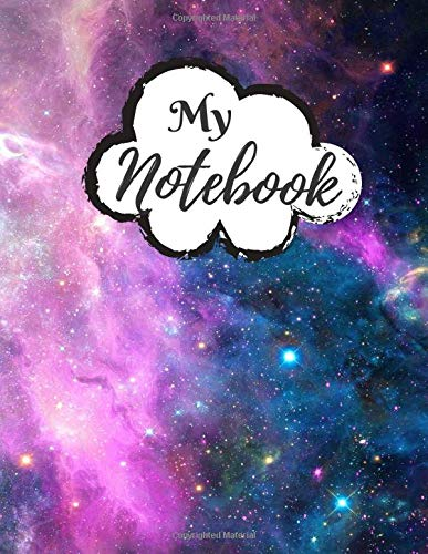 My Notebook: Password Book, Password Logbook and Internet Password Organizer, Alphabetical Password Book, Logbook To Protect Usernames - 120 Pages - ... inches) - Premium Space Galaxy Cover (Vol.02)