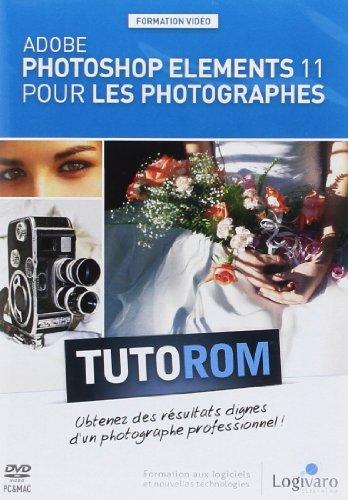 Tutorom Adobe Photoshop Elements 11 pour les Photographes. Obtenez des résultats dignes d'un photographe professionnel ! Formation vidéo de 4h05. Dvd-rom Pc & Mac.