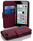 Cadorabo Apple iPhone 5C Etui de Protection Structure en ORCHIDÉE Violets – Coque Protective Complète avec Fermoire...
