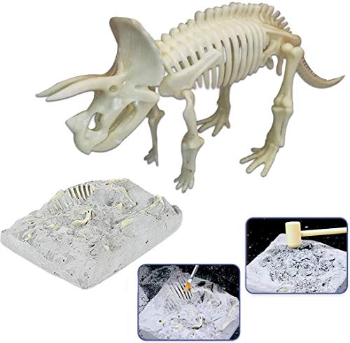 Puzzle 3D Dinosaurio Esqueleto fósil figura de juguete para