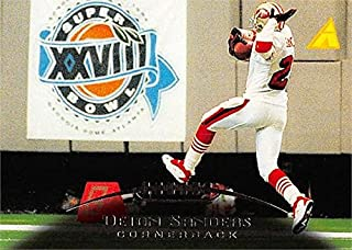 Deion Sanders Football Card (San Francisco 49ers) 1995 Pinnacle Super Bowl XXVIII #31
