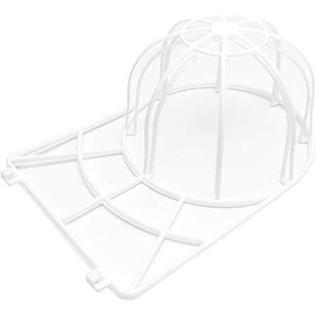 GoodsLand 【 帽子 を 洗濯機 で 洗える 】 軽量 キャップ ウォッシャー シワ 型崩れ 防止 洗濯 ネット プラスチック 洗濯機 簡単 レディース メンズ GD-CAPWASH