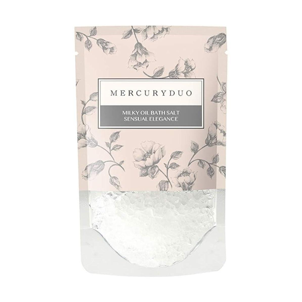 毛細血管動力学罪MERCURYDUO マーキュリーデュオ オイル in フレグランス バスソルト 7個入 [ 浸かる乳液 ] しっとり 保湿 発汗 入浴剤 1包 45g