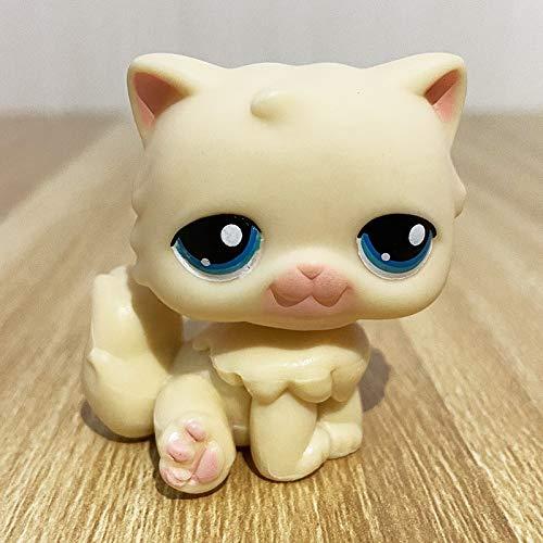 LPS CAT Rare Pet Shop Toys Mini Stands Short Hair Kitten Old Figures Collection Original Cute Animal 178