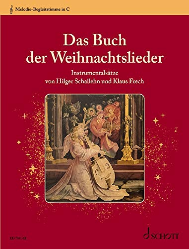 Das Buch der Weihnachtslieder: Instrumentalsätze. variable Besetzungsmöglichkeiten. Melodie-Begleitstimme in C (Violinschlüssel): Alt-Blockflöte, ... Alt-Xylophon, Alt-Metallophon, Keyboard.