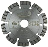 PRODIAMANT Disco de corte de diamante premium hormigón láser 125 mm / 22,2 mm, gris, PDX821.711...