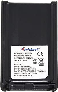 FNB-V103LIA 1380mAh Li-ion Battery Compatible for Vertex VX-231 VX231 VX-228 VX228 VX-230 VX230 VX-234 VX234 FNB-V103Li FNB-V103 (Fits for CD-34/VAC-300 Charger)