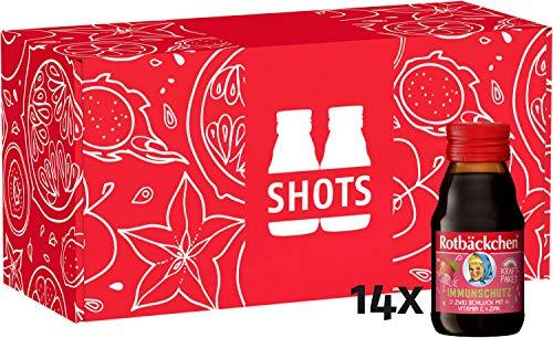 Rotbäckchen Kraftpaket Immunschutz Shot, 14er Pack (14 x 60 ml), 840 ml