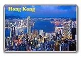 Hong Kong/Photo/Fridge/Magnet. - Aimant de réfrigérateur
