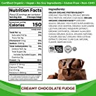 Orgain Organic Plant Based Protein Powder, Creamy Chocolate Fudge - Vegan, Low Net Carbs, Non Dairy, Gluten Free, No Sugar Added, Soy Free, Kosher, Non-GMO, 2.03 Lb (Packaging May Vary) #1