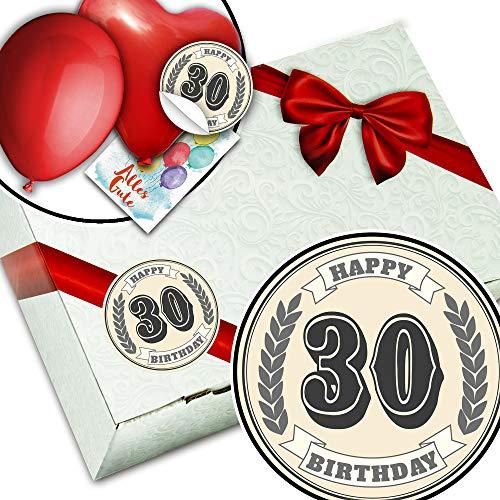 30. Geburtstag - Geschenkbox Karton - Geschenke zum 30 Geburtstag Frau