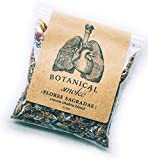 Anima Mundi Flores Sagradas Smoke - Ceremony & Meditation - Relaxing Botanicals, Sleep Support Crown Chakra Blend (0.5oz)
