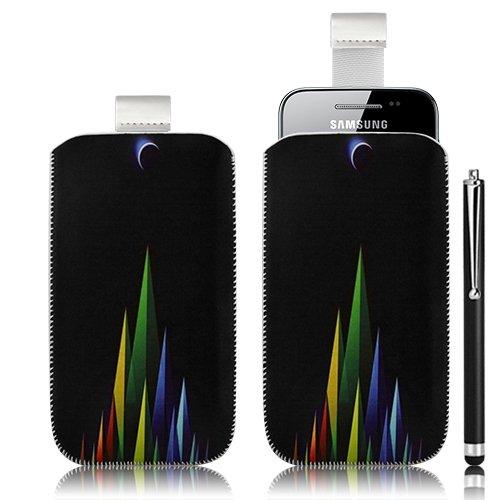 Seluxion-Funda tipo libro para Samsung Galaxy Ace S5830, diseño de LM02 lápiz...