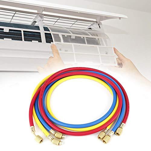 Pasamer Tubo Flessibile del refrigerante Resistente all'Usura, Tubo del Fluoro, aggiunta di refrigerante da 1/4 di Pollice per la Manutenzione del condizionatore d'Aria