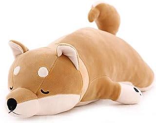 Auspicious beginning 30'' Shiba Inu Plush Stuffed Animal Dog Plush Pillow Children Hugging Pillow Sleeping Comfort Cushion...