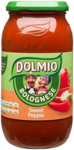 Dolmio Classic Bolognese Extra Beauty products Sweet Pepper 500g Sauce