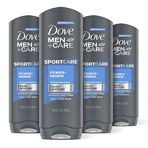 DOVE MEN + CARE Sport Body and Face Wash For Fresh, Clean Skin...