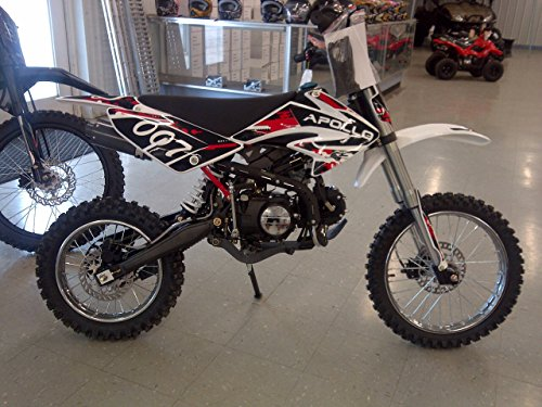 Apollo DB-007 125cc Dirt Bike Red