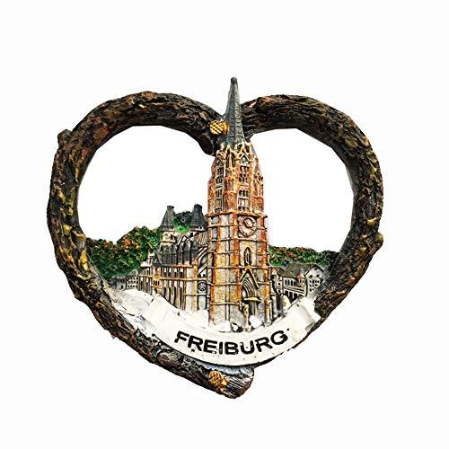 Freiburg Schwarzwald Deutschland 3D Kühlschrankmagnet Tourist Souvenir Geschenk Home Küche Dekoration Magnet Sticker Freiburg Kühlschrank Magnet Kollektion