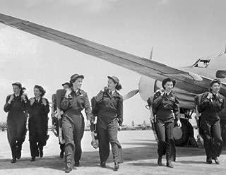 ConversationPrints WWII WOMEN PILOTS GLOSSY POSTER PICTURE PHOTO BANNER world war2 flight wasp