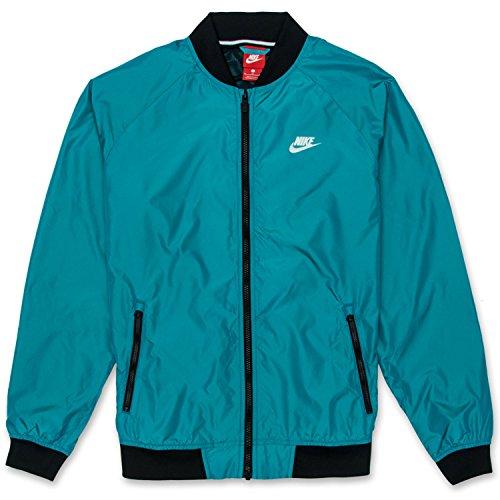 NIKE Men's NSW Varsity Jacket BlueLacquer 924517-416 (Size: M)