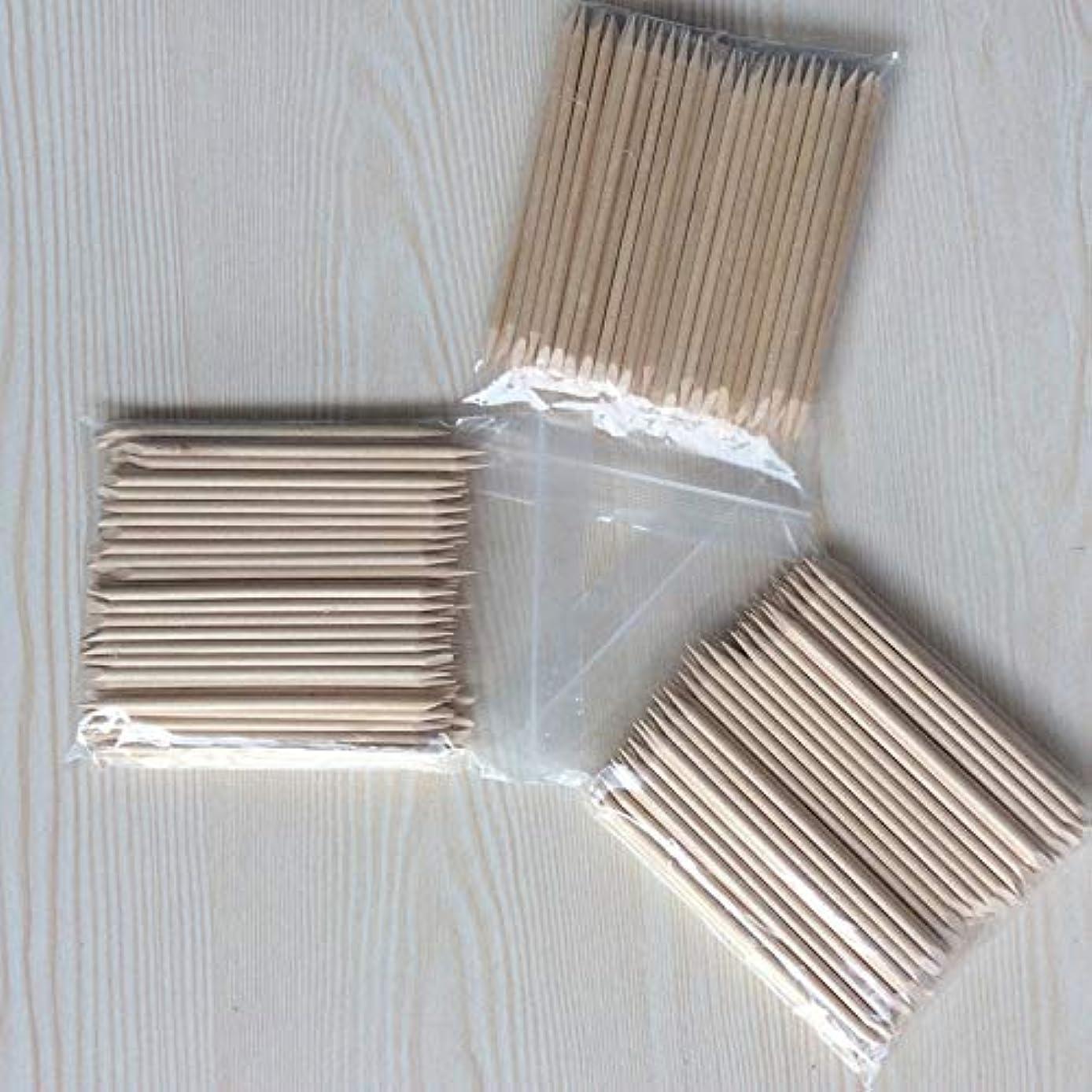 Nail Brush 20/50/100Pcs/Set Nail Art Orange Wood Stick For Nail Art Decorations Cuticle Pusher Remover Pedicure Manicure Tool 100pcs per set