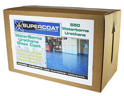 SUPERCOAT Clear Waterborne Urethane Glaze Coat