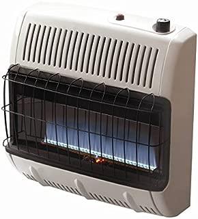 Mr. Heater Corporation Vent Free Flame Natural Gas Heater, 30k BTU, Blue