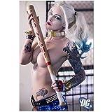 NRRTBWDHL Druck auf Leinwand Harley Quinn Squad New Silk
