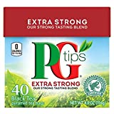 PG Tips Extra Strong Black Tea Pyramid, 40 CountPack of 6
